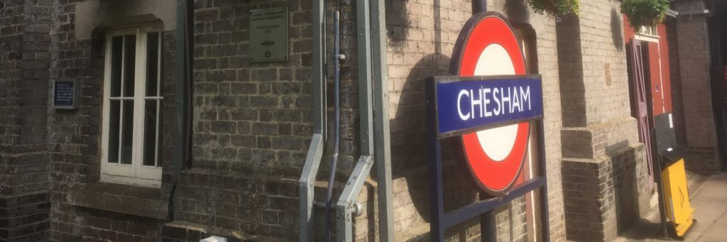 Chesham station picture
